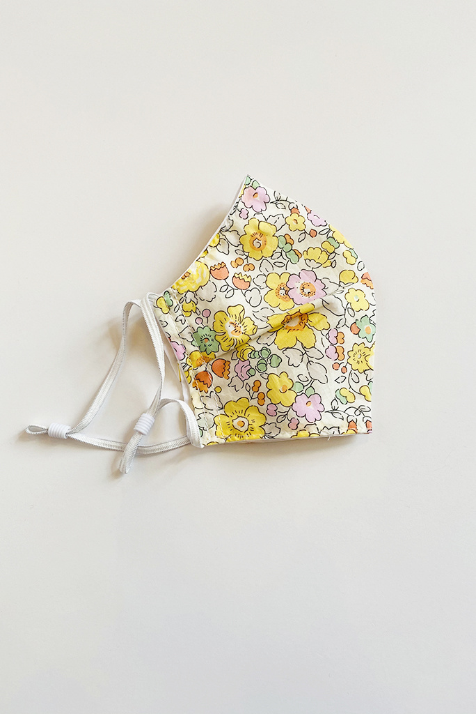 A. Cheng Liberty Cotton Shaped Masks- multiple colors