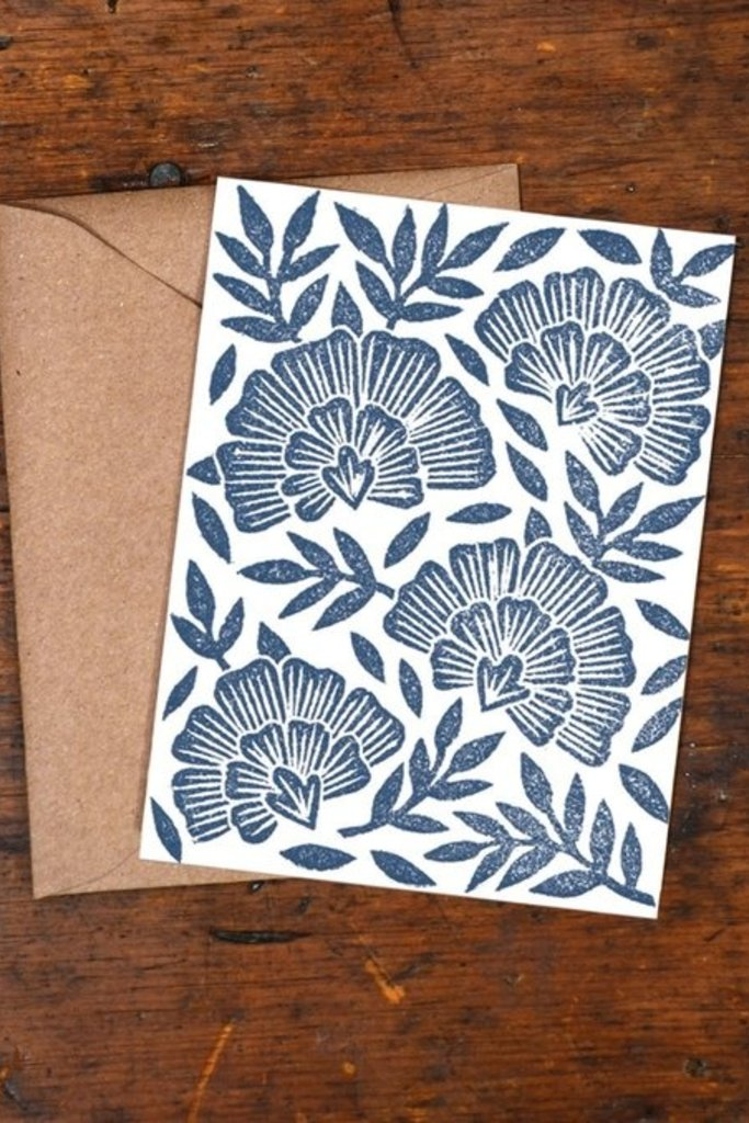 Katharine Watson Block Print Cards - Set of 6 - Multiple Designs