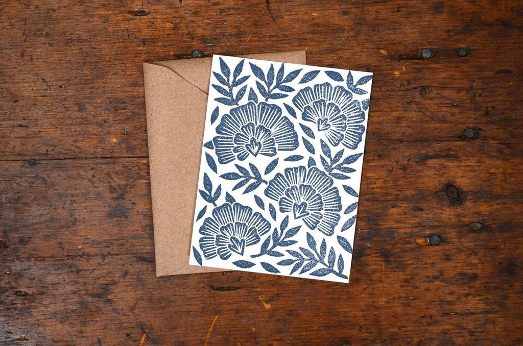 Katharine Watson Block Print Cards - Set of 6 - Multiple Designs