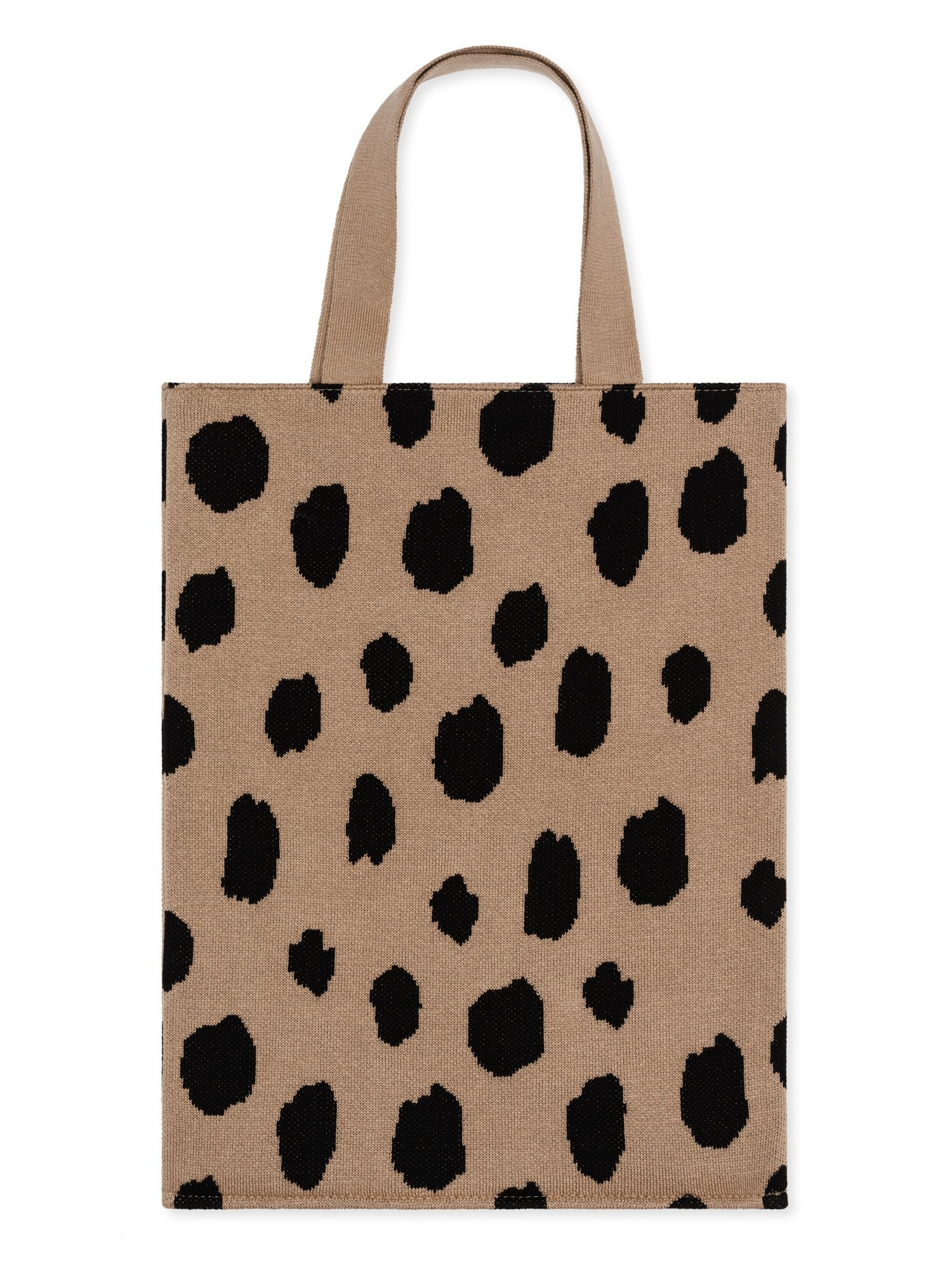 Hansel From Basel Hansel from Basel Spotted Tote Bag in Beige