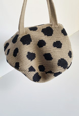 Hansel From Basel Hansel from Basel Spotted Mini Pita Bag in Beige