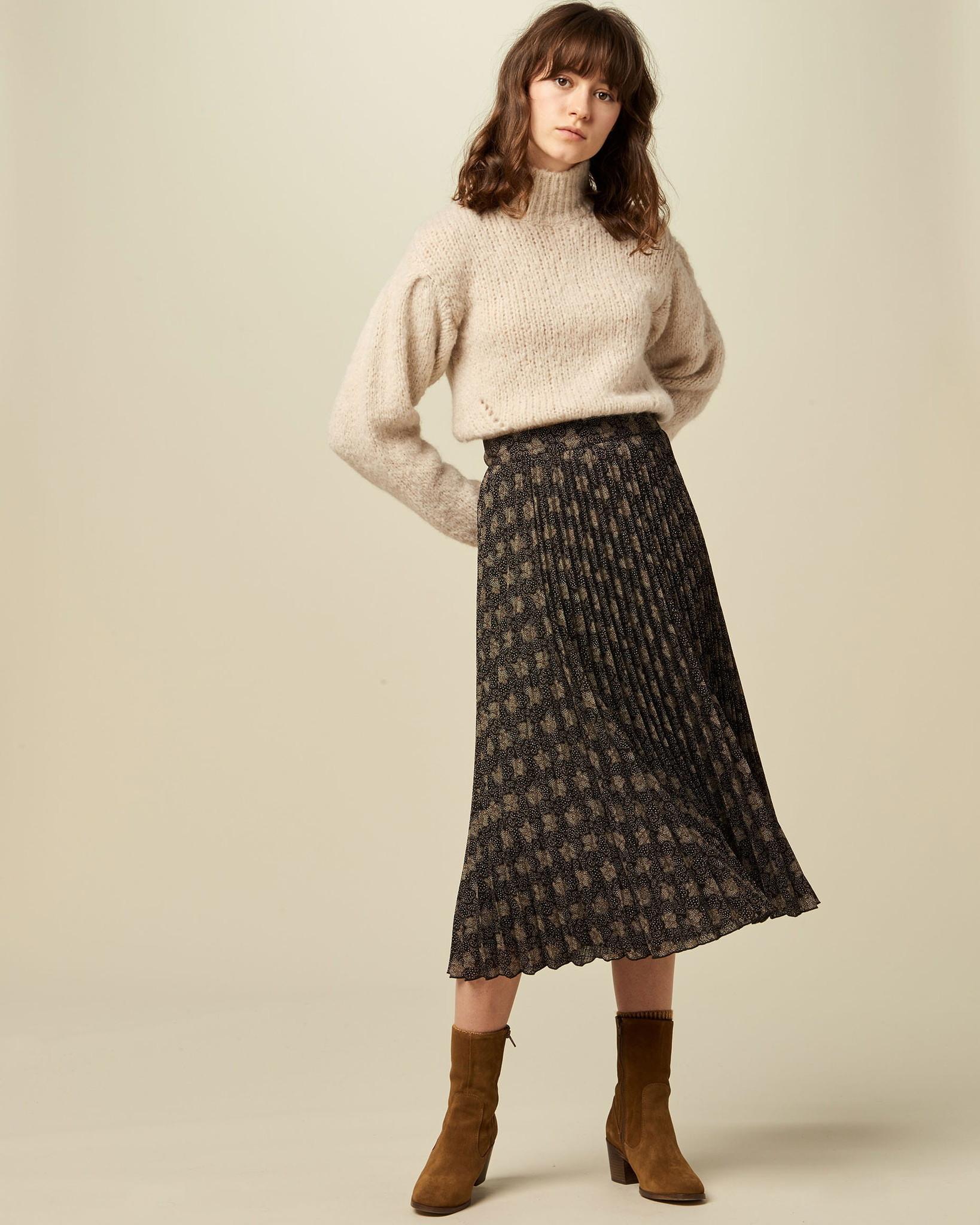 Sessun Nu Coleen Pleated Skirt