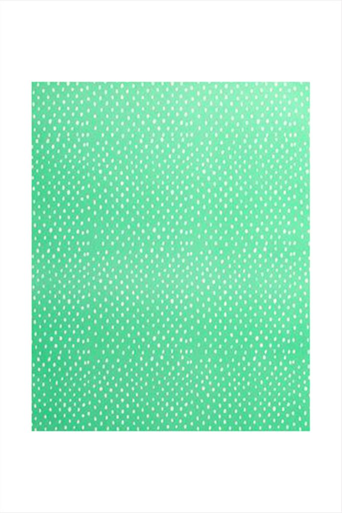 green dot wrapping paper