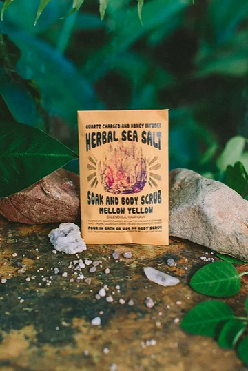 Wild Yonder Botanicals Wild Yonder Botanicals Herbal Salt Soak Scrub