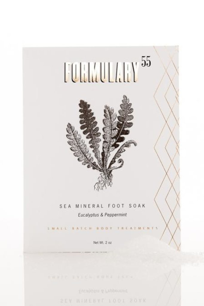Formulary 55 Formulary 55 Peppermint and Eucalyptus Foot Soak