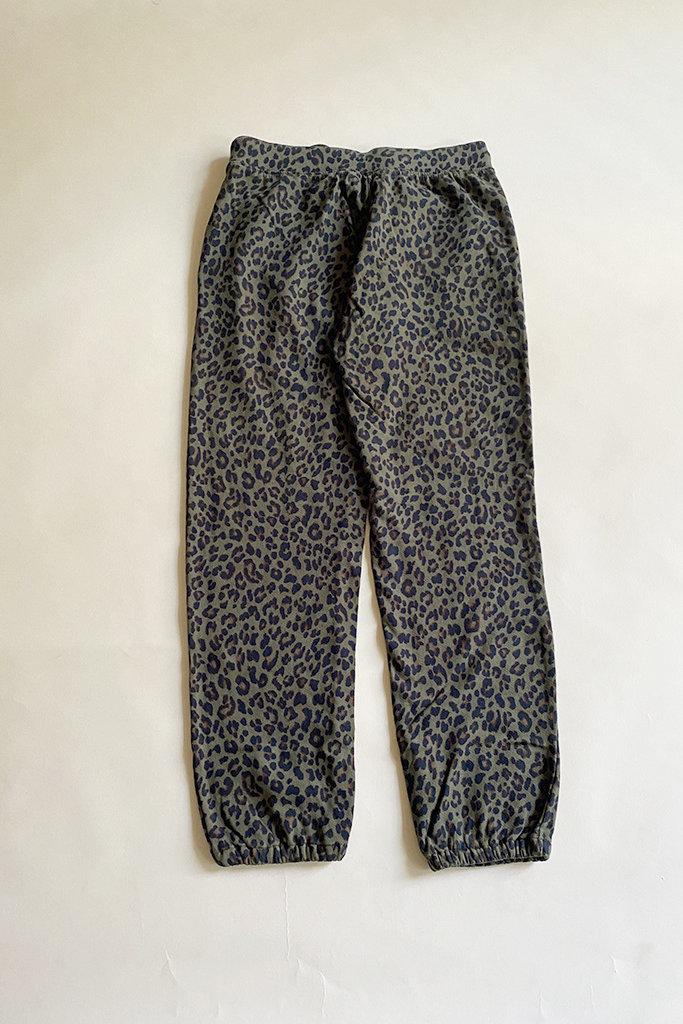 Velvet Velvet Sabella Leopard Print Sweatpant