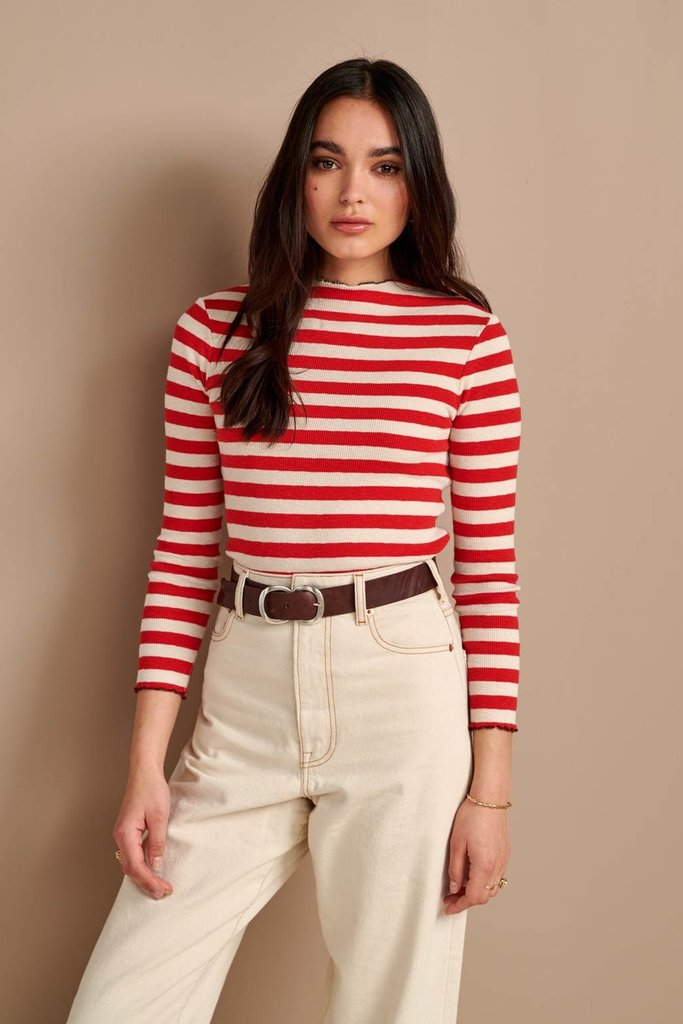 Bellerose Bellerose Niba  Striped Knit Top