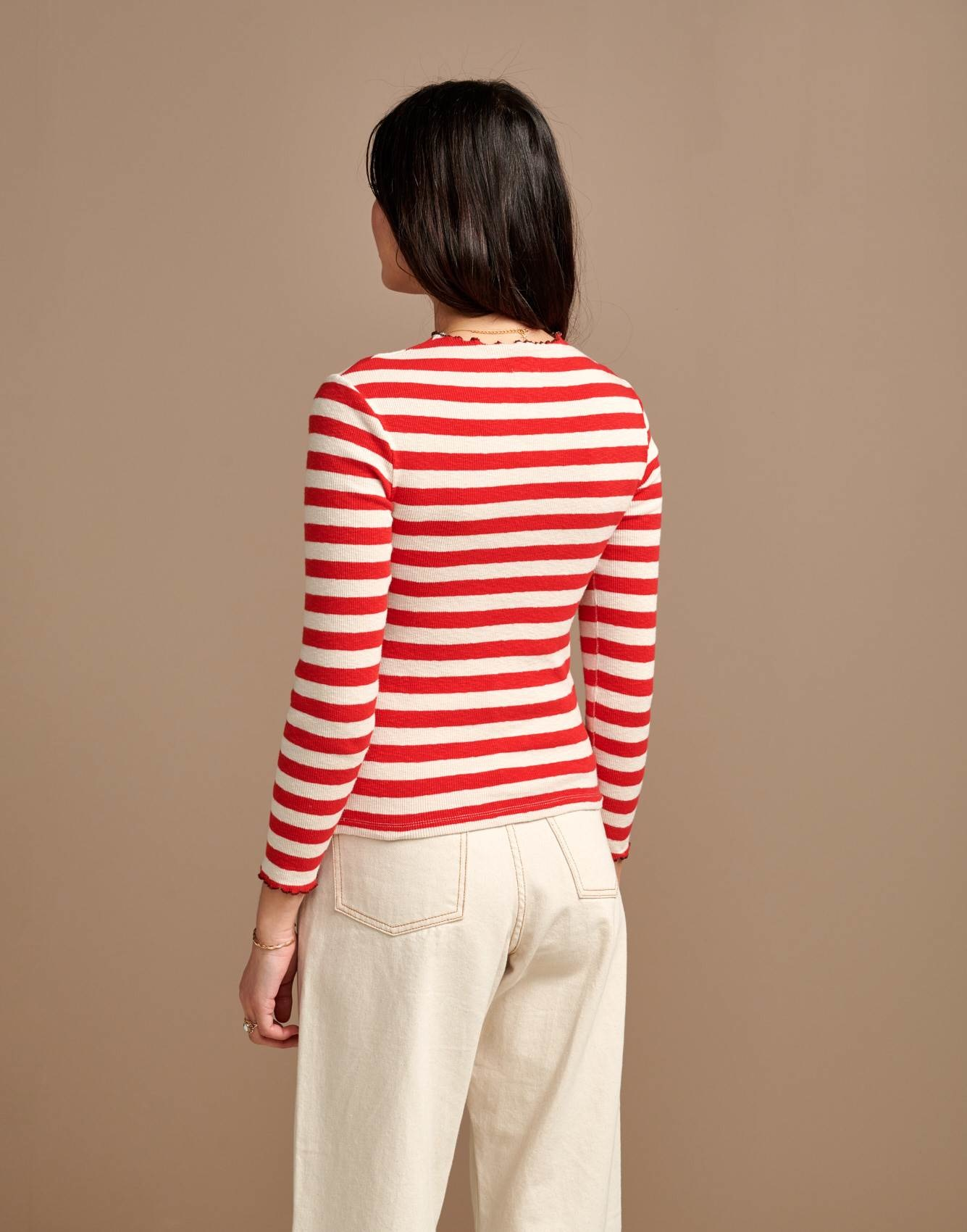 Bellerose Bellerose Niba  Striped Knit Top
