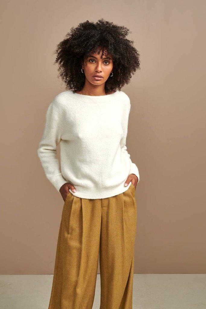 Bellerose Bellerose Anes Cream Sweater - Size 2
