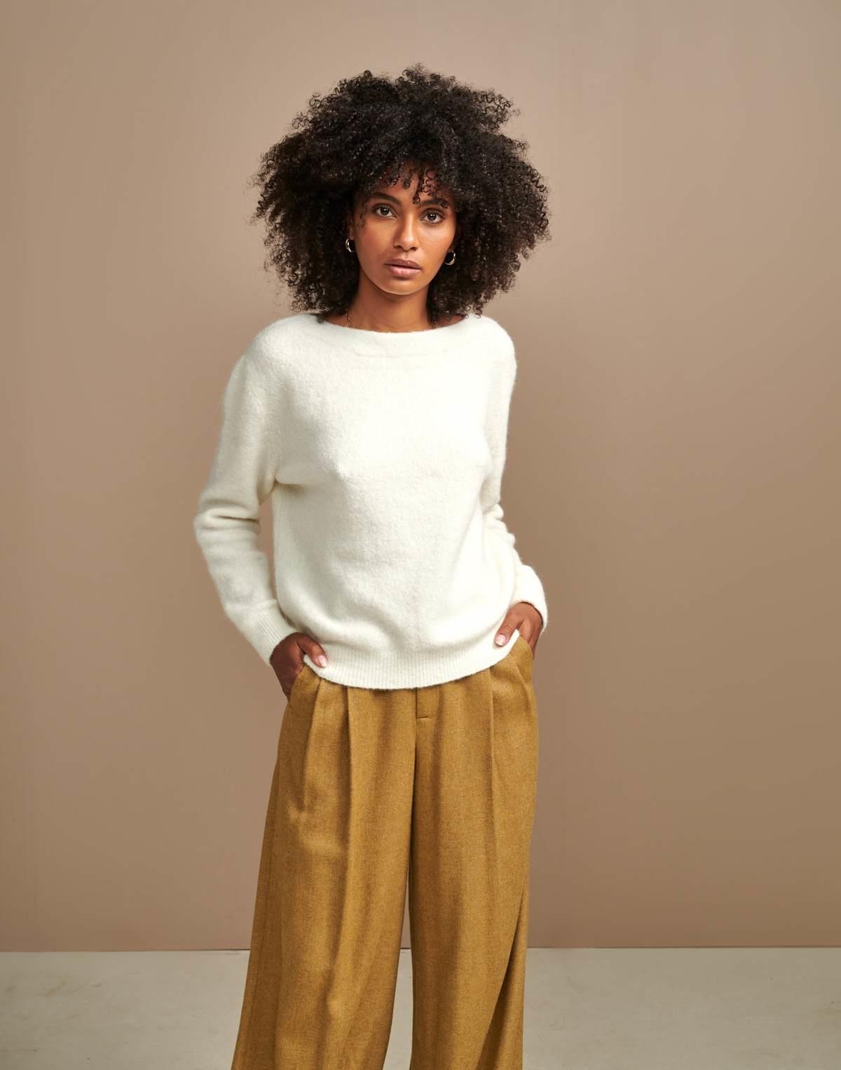 Bellerose Bellerose Anes Cream Sweater
