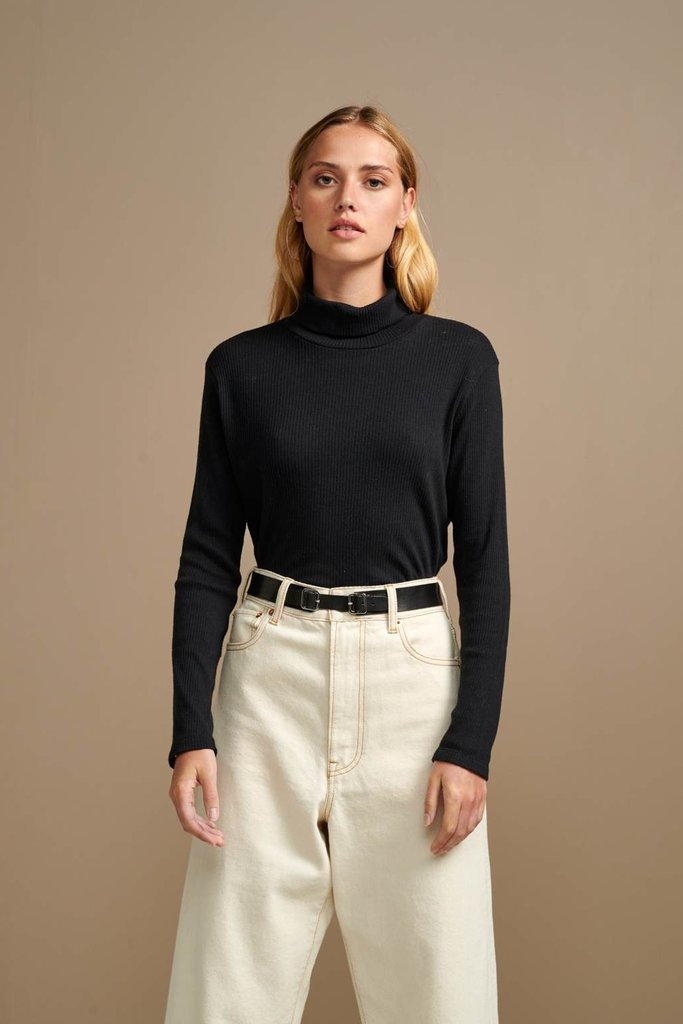 Bellerose Bellerose Mush Knit Turtleneck Top - Size 1