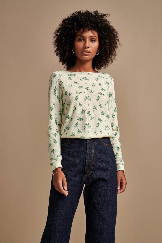 Bellerose Bellerose Daruy Floral Sweater