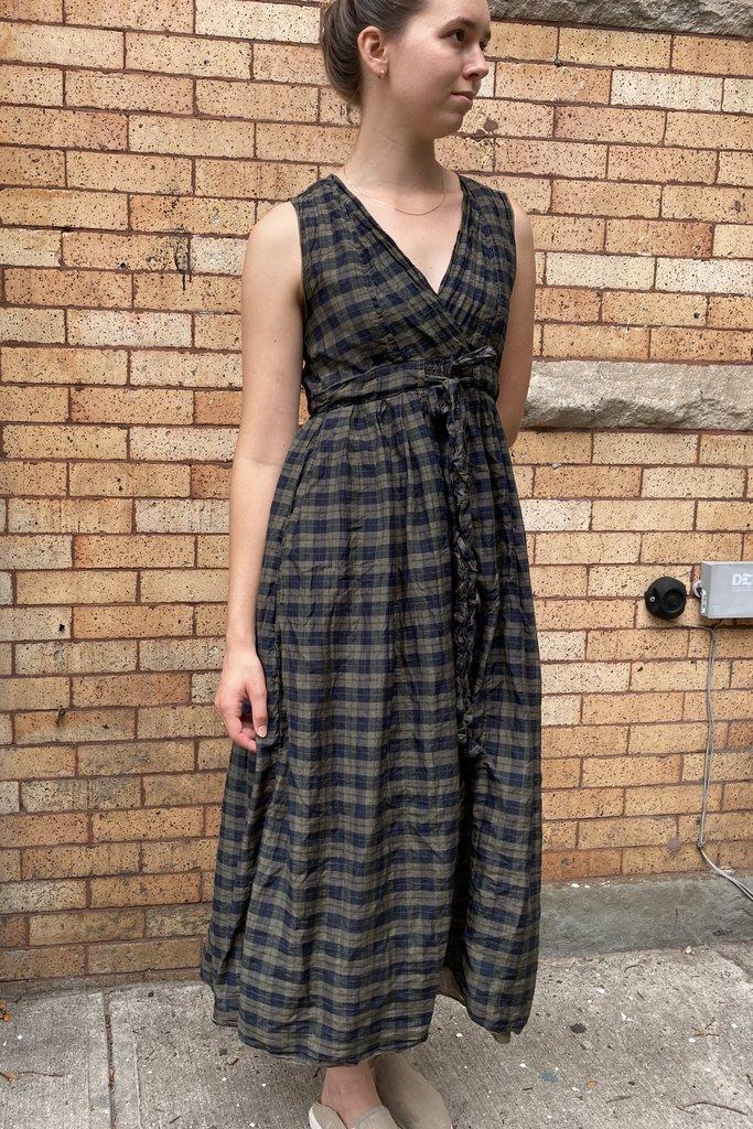 CP Shades Julia Airy Plaid Dress