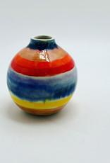 Alice Cheng Studio Rainbow Porcelain Vase