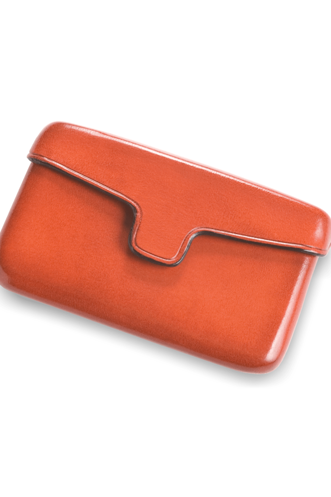 Il Bussetto Leather Business Card Holder - Two Colors