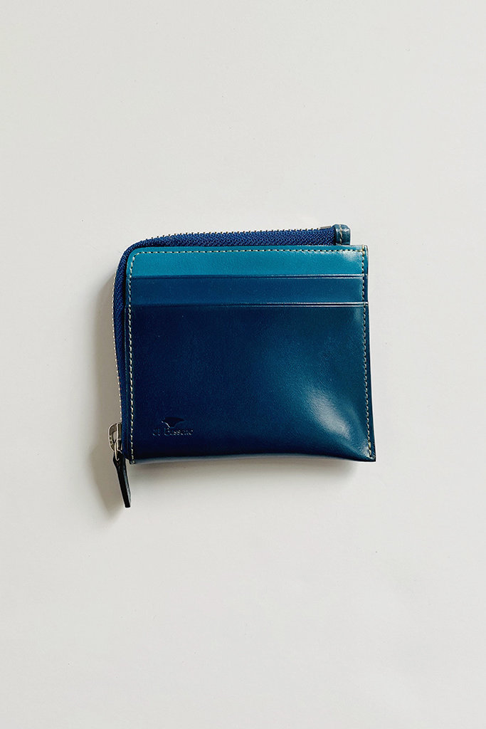 Il Bussetto Il Bussetto Contrast Small Zip Wallet