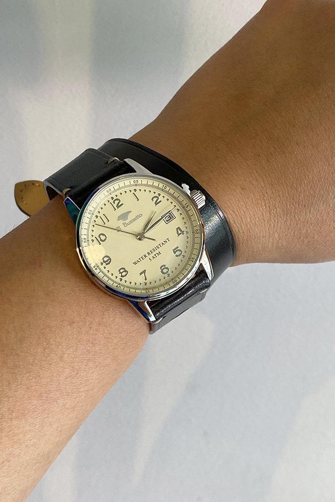 Il Bussetto Il Bussetto Double Strap Watch
