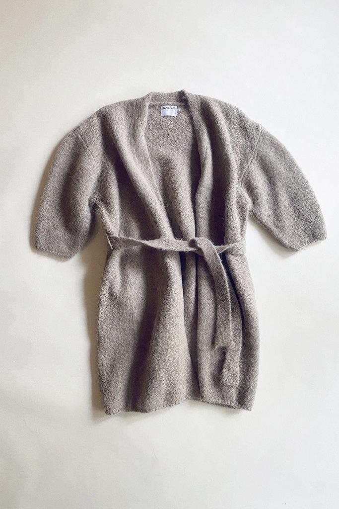 Saralam Alpaca Knitted Robe