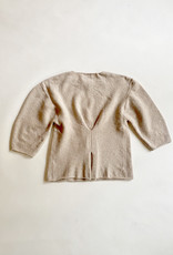 Saralam Knitted Scoop Sweater - Size M/L