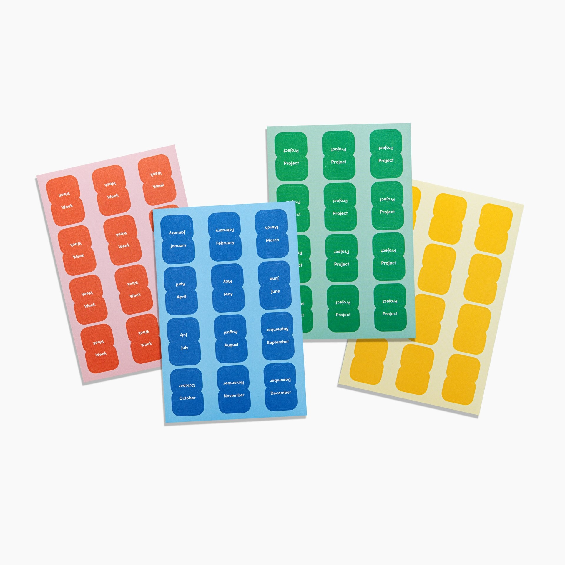 Poketo VIS Vibrant Organizational Sticker Tabs