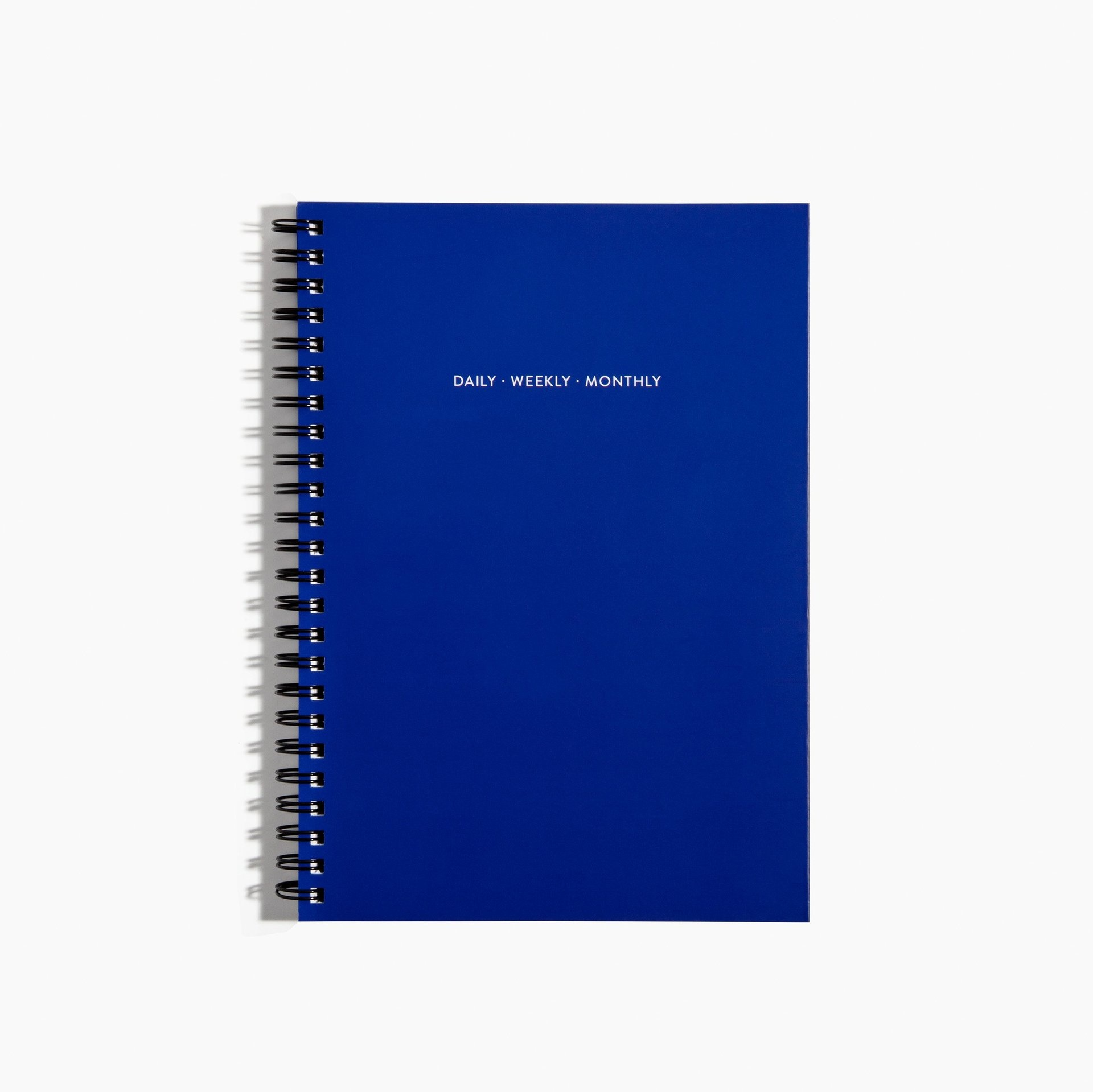 Poketo VIS-DWM Small Blue Spiral-Bound Planner