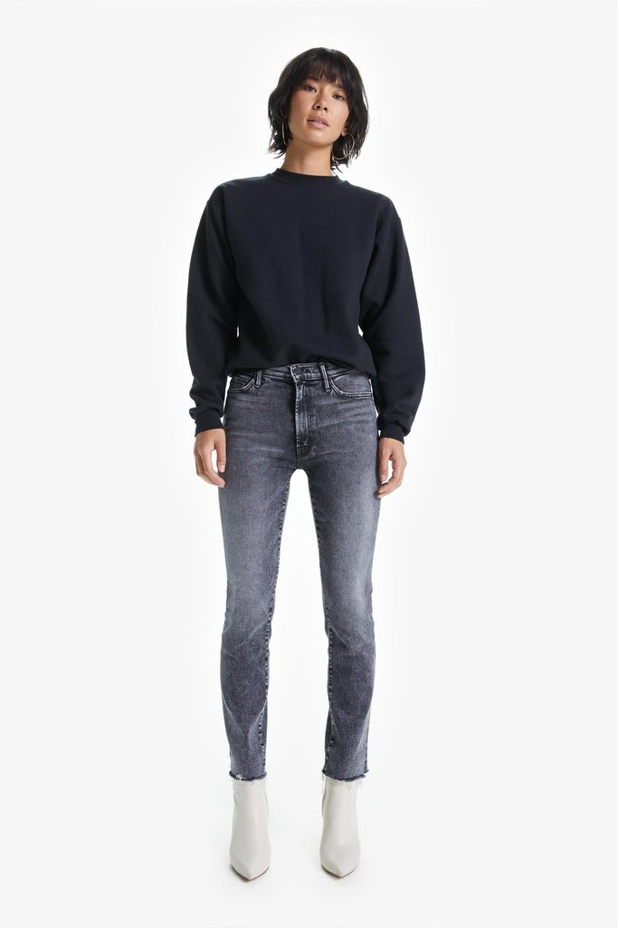 Mother High Waisted Rascal Ankle Snippet Jeans