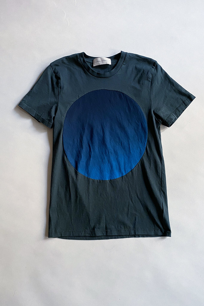 Correll Correll Gradient Circle T-Shirt in Hand-Dyed Organic Cotton