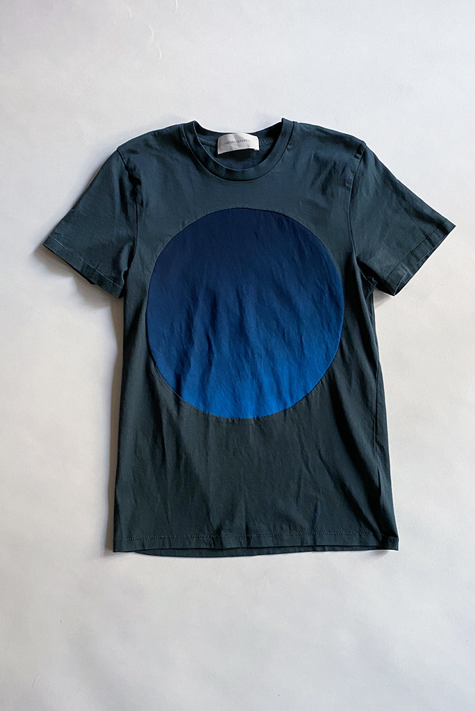 Correll Correll Gradient Circle Cotton T-Shirt - Size L