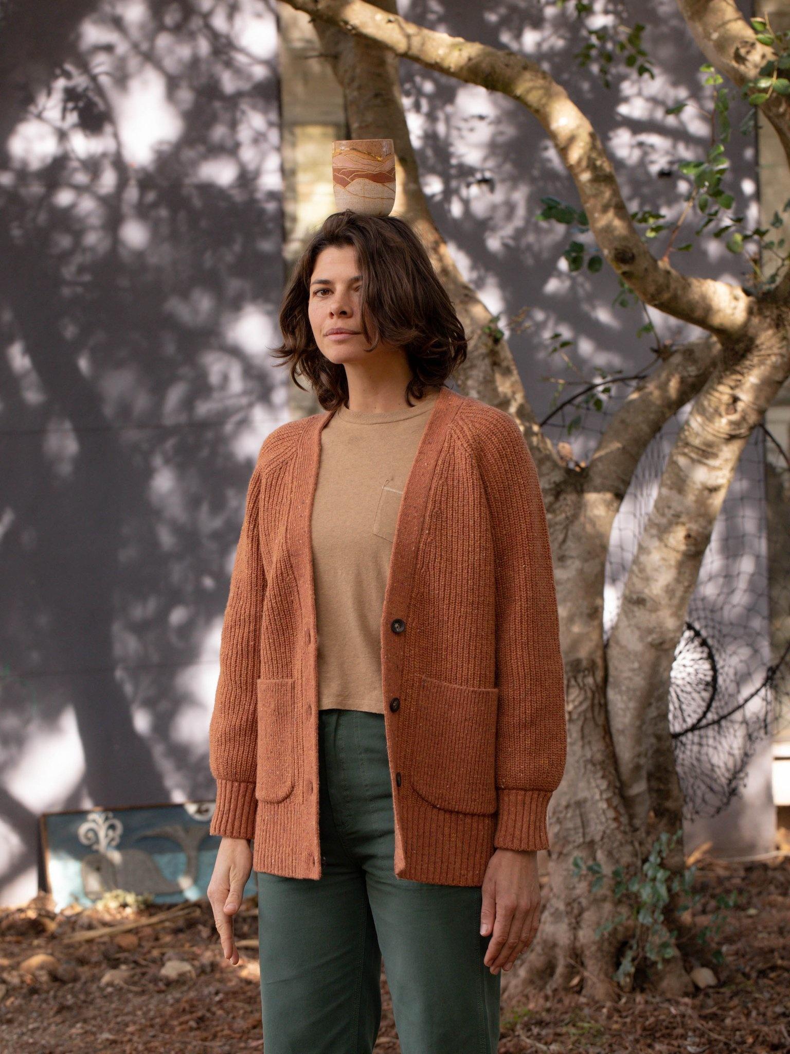Ida Oversized Wool Cardigan - Multiple Colors