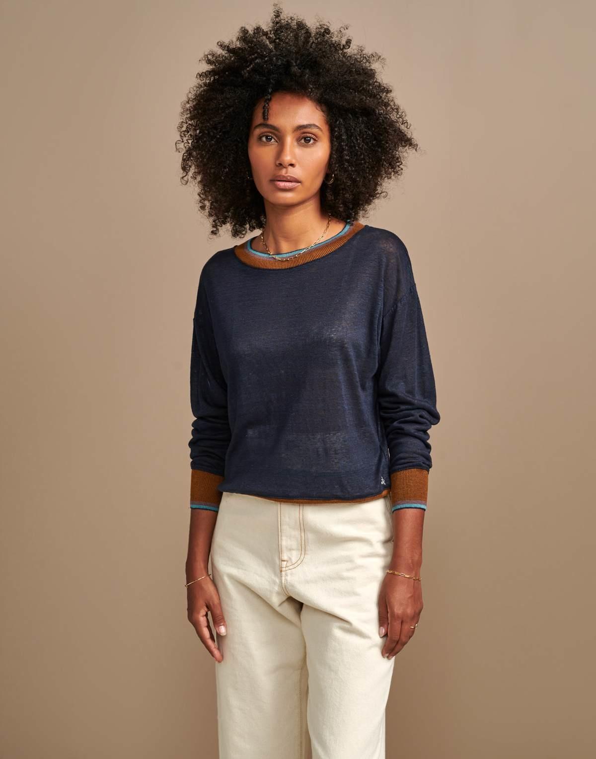 Bellerose Senia Lightweight Linen Sweater - Multiple Colors