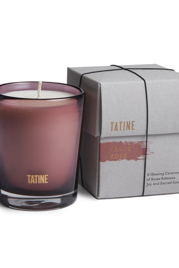 Tatine Peace Rose Candle 8 oz
