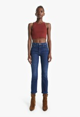 Mother Dazzler Hover High Rise Straight Leg Jean