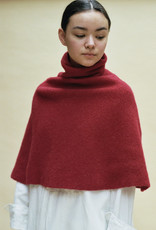 Cecilie Telle High Neck Knitted Poncho - Multiple Colors