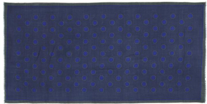 Mois Mont 46303 Dots Scarf Dutch Blue