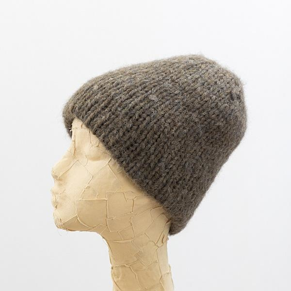 Baby Alpaca Blend Doubled Beanie - Multiple Colors