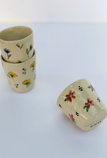 Alice Cheng Studio Petite Floral Cups