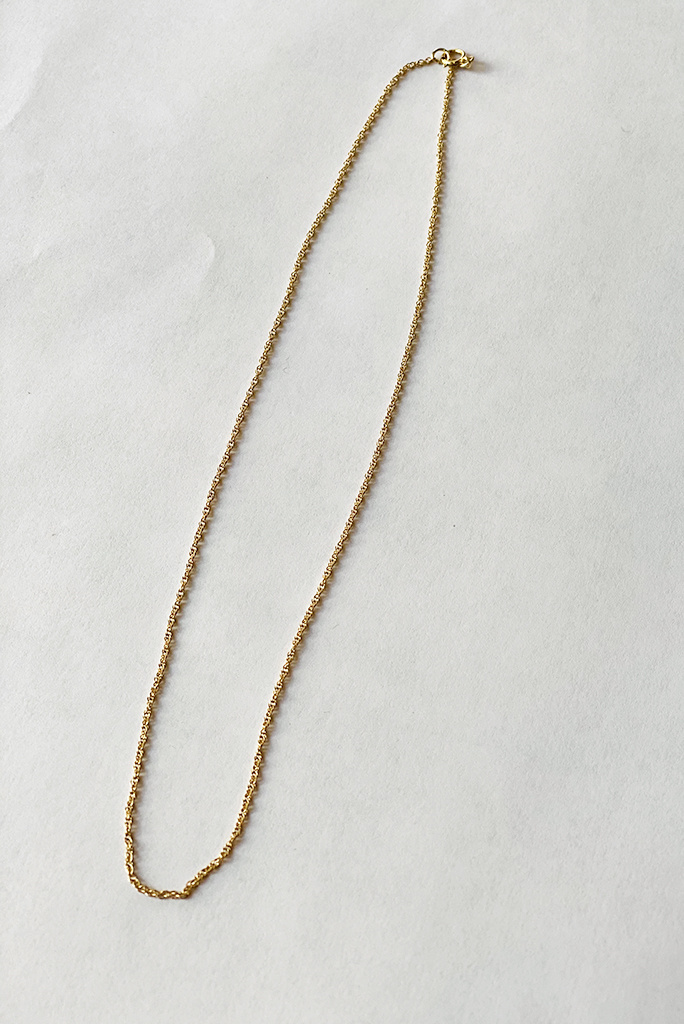 La Kaiser Simple Gold Fill Chain Necklace