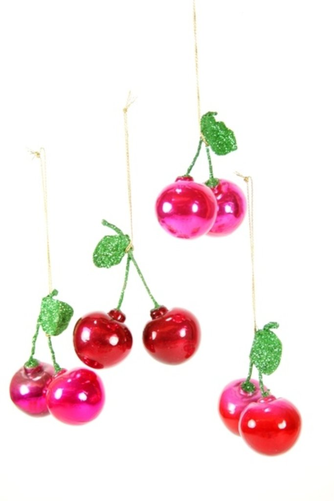 Orchard Cherries Ornament - Multiple colors
