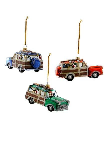 Holiday Finery Car  Ornament