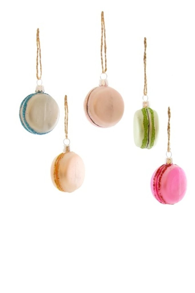 French Macaroons Ornament - Multiple Colors