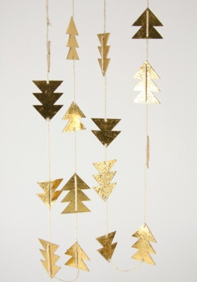 Cody Foster & Co Paper Tree Garland