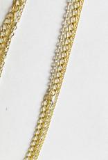 Chibi Jewels Triple Mix Chain Choker Necklace