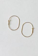 Small Aurelia Hoop Earrings