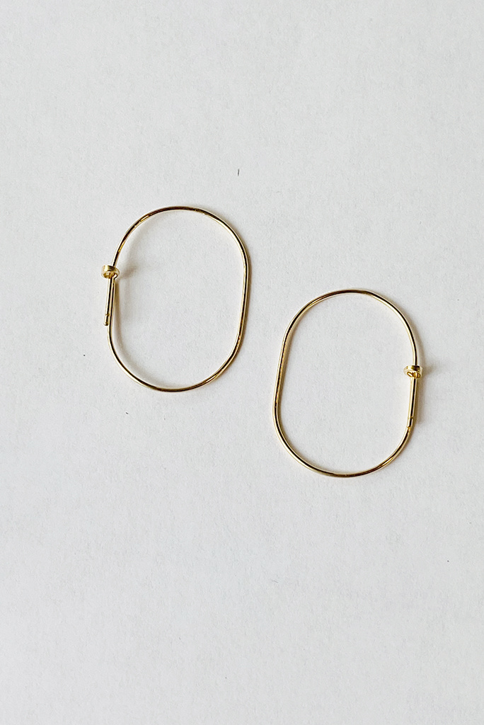 Chibi Jewels Small Aurelia Hoop Earrings