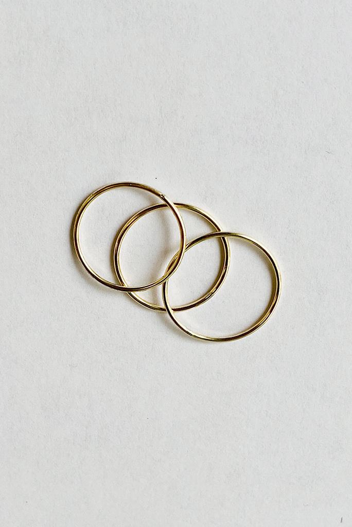 Chibi Jewels Simple GF Ring Size 8