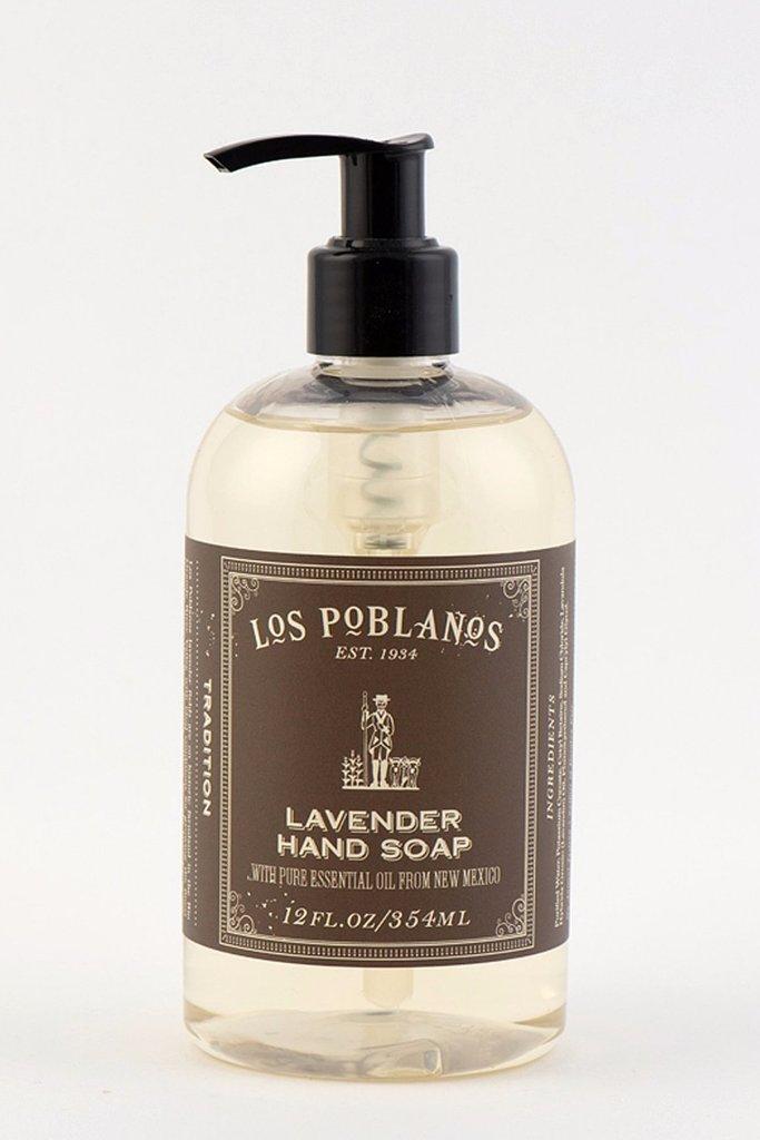 Los Poblanos Organic Los Poblanos Lavender Liquid Hand Soap 12oz