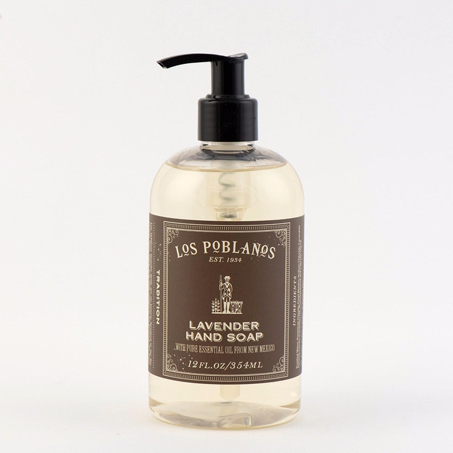 Los Poblanos Lavender Liquid Hand Soap 12oz