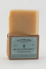 Los Poblanos Organic Blue Corn Mint Bar Soap
