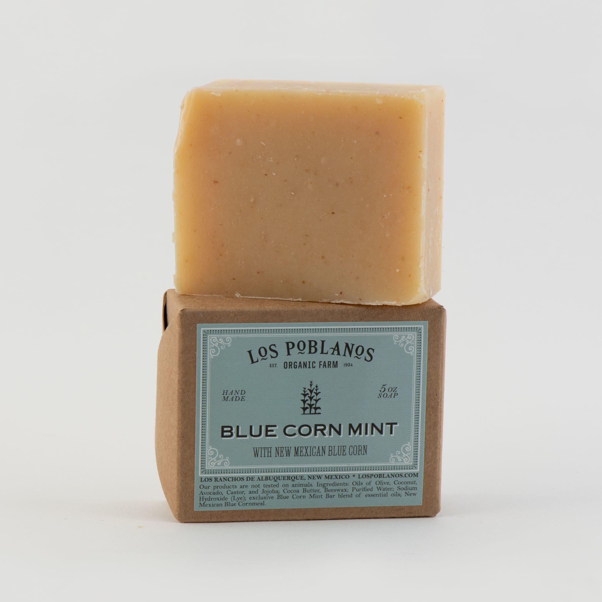 Blue Corn Mint Bar Soap