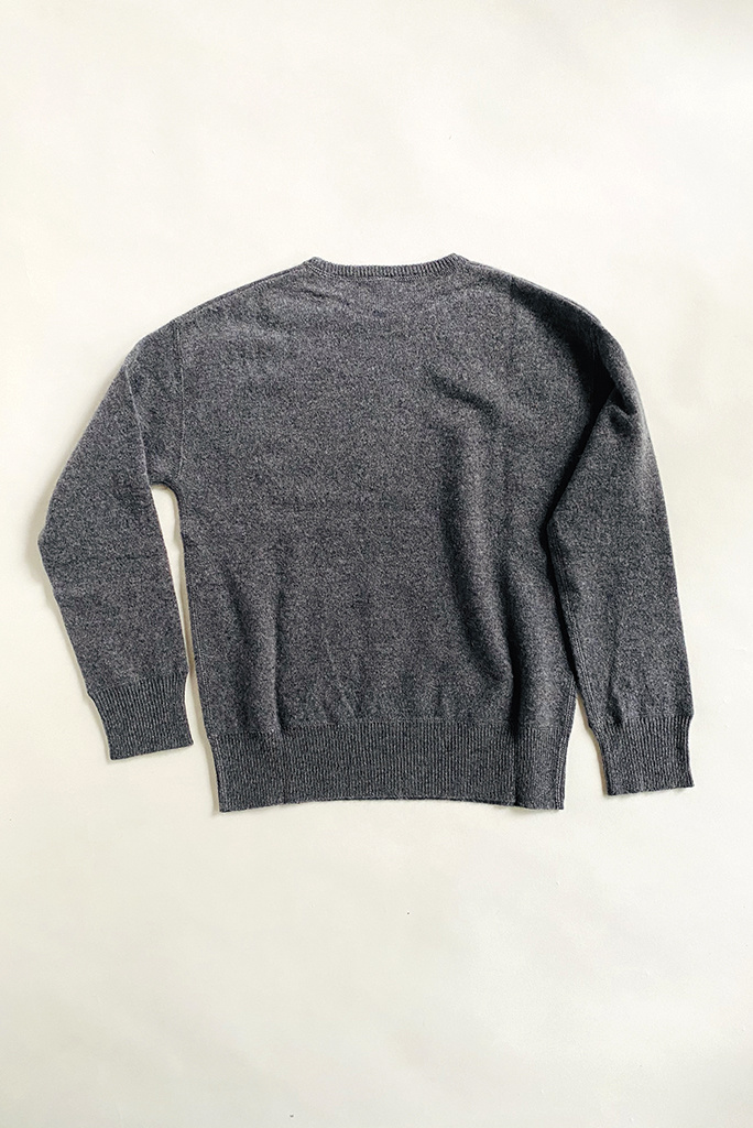christina Lehr Cashmere Tina Sweater in Charcoal